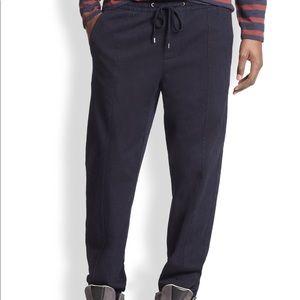 Vince Denim Knit Blue Jogger Size S